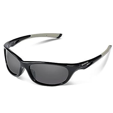 Duduma Gafas de Sol Deportivas Polarizadas Perfectas Para Esquiar Golf Correr Ciclismo con el Marco Du646