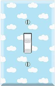 Graphics Wallplates Blue Cloud Single Toggle Wall Plate Cover Amazon Com