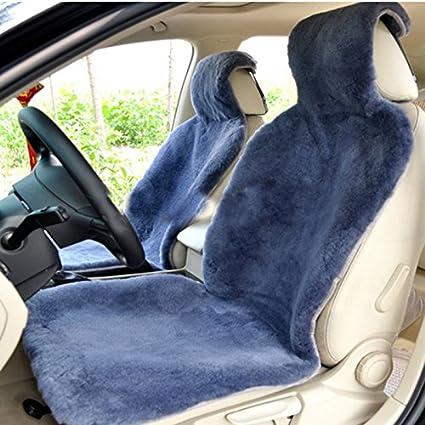 Amazon Com Oflba 1pcs Genuine Australia Sheepskin Seat Cover Car