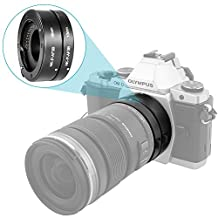 Neewer Automatic Macro Extension Tube Set for Micro Four Thirds (Micro-4/3, MFT) Mirrorless Camera System with Auto Focus (AF) for Extreme Close-Up (10mm, 16mm)-Fits Panasonic G1 G2 G3 G10 GH1 GH2 GH3 GF1 GF2 GF3 GF5 GX1 GX2 Olympus E-P1 E
