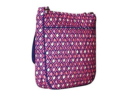 Double Mailbag Signature Bradley Cotton Katalina Diamonds Vera Pink Zip twqpa5ax