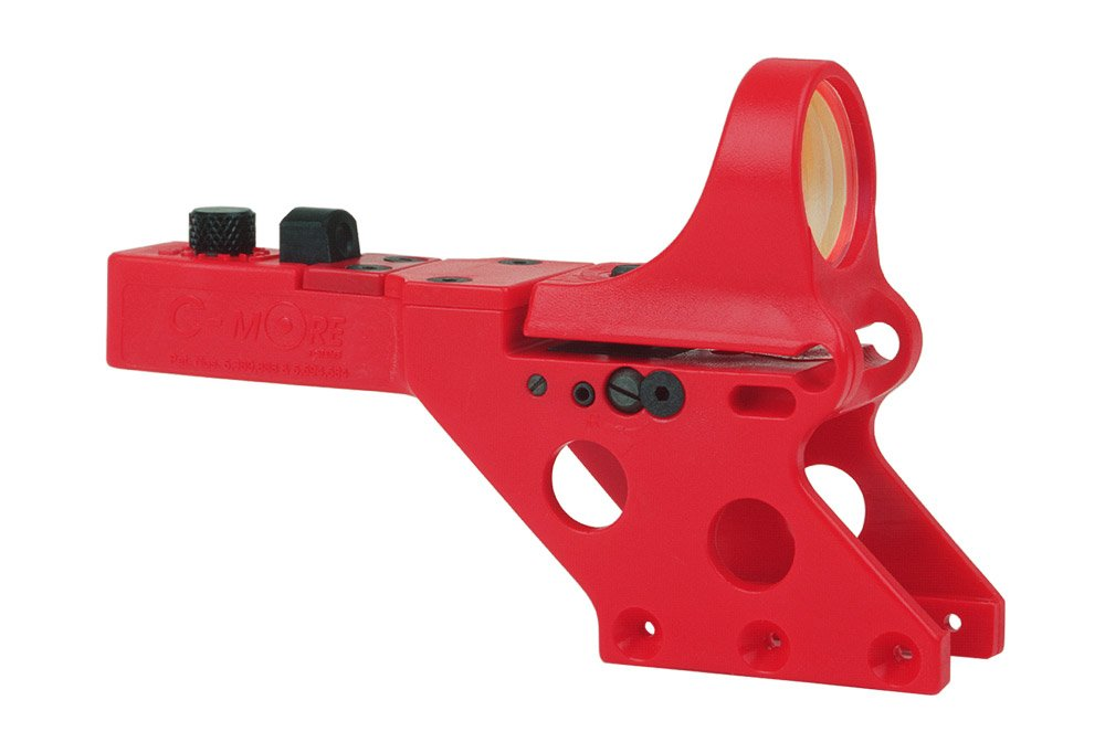 C-MORE Systems Serendipity Red Dot Sight with Click Switch (Frame Width: .750-Inch), Red, 2 MOA