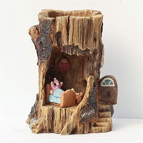 fairy log house - 2