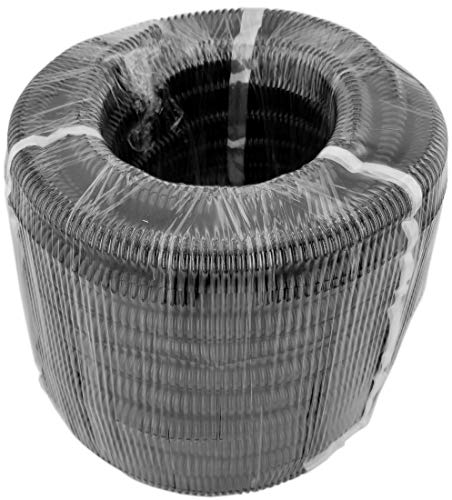GS Power 50 FT Split Loom Tube - Polyethylene High Temperature Automotive, Marine, Industrial Electrical Wire & Cable Conduit (Size Choice: 1/4 or 1/2 inch)