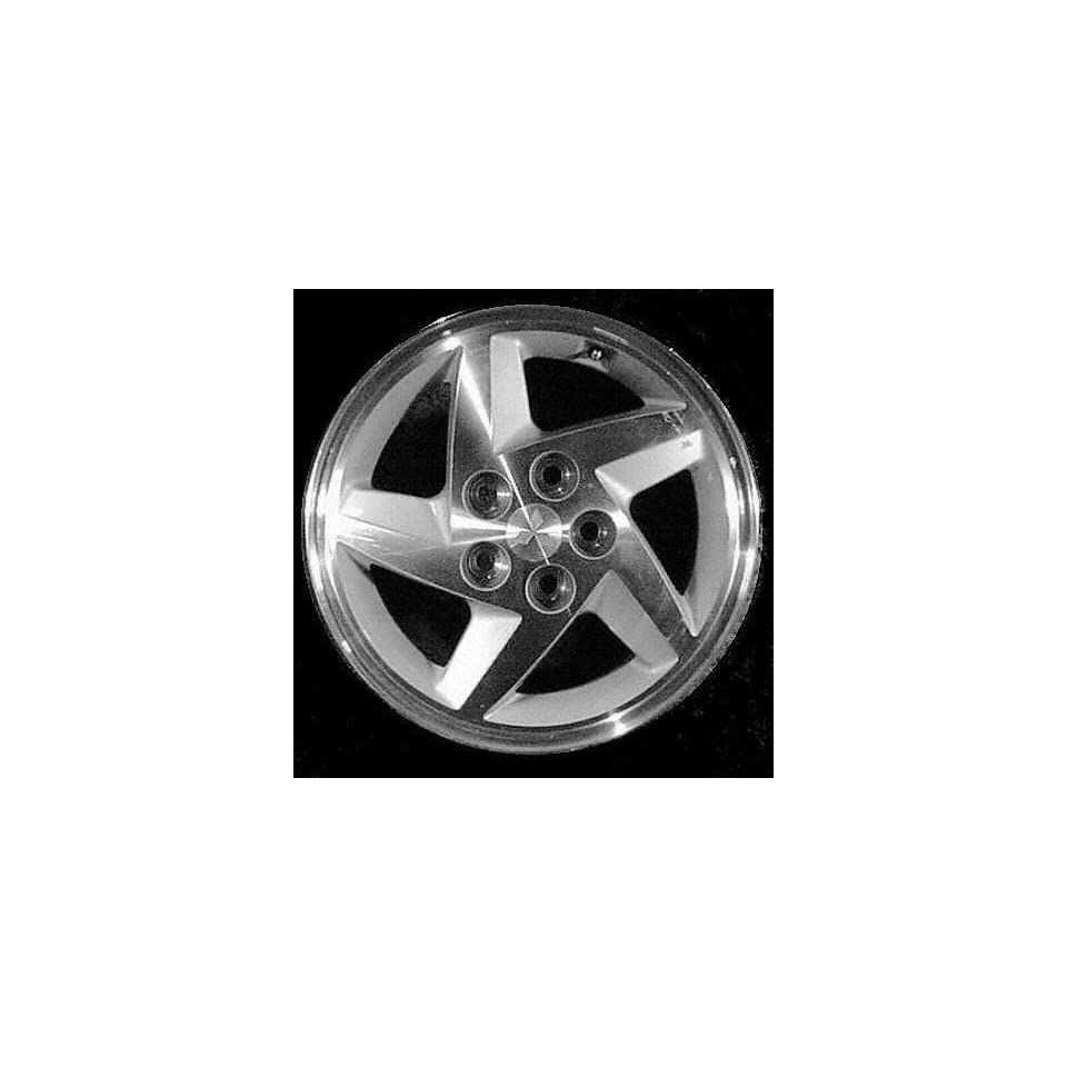 93 96 MITSUBISHI ECLIPSE ALLOY WHEEL RIM 16 INCH, Diameter 16, Width 6 (5 SLOT), MACHINED LIP AND SPOKES., 1 Piece Only, Remanufactured (1993 93 1994 94 1995 95 1996 96) ALY65722U10
