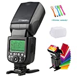 Godox TT685C E-TTL 2.4GHz GN60 High Speed Sync 1/8000sCamera Flash Speedlite Light Compatible for Canon Cameras with Diffuser & Filter & USB LED