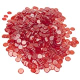 1000 Pack Bingo Chips (Red)