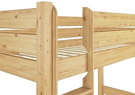 Stabiles Etagenbett Für Erwachsene : Erst holz etagenbett massivholz nische rollrost