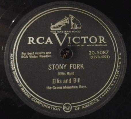 (Stony Fork/ Foggy Valley. Fiddle & Guitar 78 RPM)