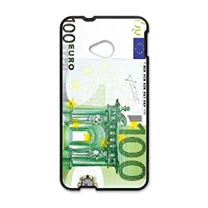 Diy Phone Cover euro for HTC One M7 WEQ129167