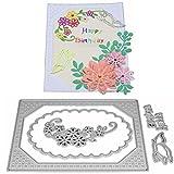 Flower Die Cut,iHPH7 Hearts Metal Cutting Dies Stencils DIY Scrapbooking Album Paper Card Making 759