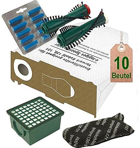 Spazzole adatto per Vorwerk Folletto 130 e EB 350 4 Filtri