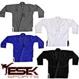 #9: Estek Sports BJJ Kids Brazilin Jiu Jitsu Gi Mixed Martial Arts IBJJF Approved Brazilian Ultra Light Kimono Uniform
