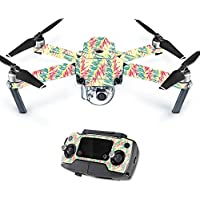 MightySkins Protective Vinyl Skin Decal for DJI Mavic Pro Quadcopter Drone wrap cover sticker skins Electric Palms