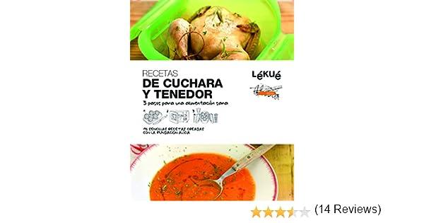 Lékué Libro de cocina De Cuchara y Tenedor, Negro, Único: Amazon.es: Vv.Aa, Vv.Aa: Libros