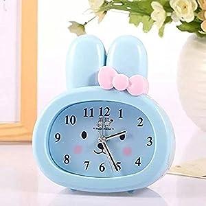 Sweet Home Cartoon Rabbit Digital Table Clock Home Decor