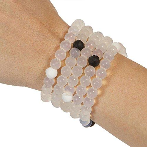Lokai Sports Clear Rubber Bead Bracelet Import It All