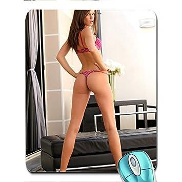 614f83e0745cf brunettes women bikini ass little caprice caprice a x wallpaper Wallpaper  mouse pad computer mousepad