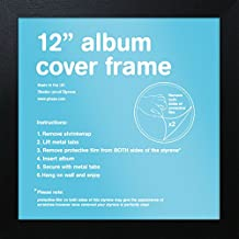 "GB eye FMALA1BK Black 12"" Record Sleeve Album Frame"