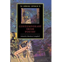 The Cambridge Companion to Contemporary Irish Poetry (Cambridge Companions to Literature)