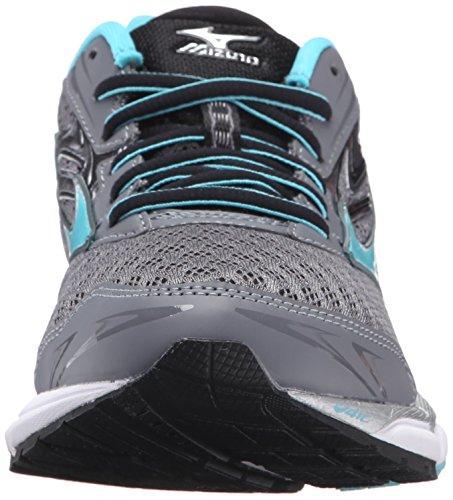 Mizuno Women's Wave Inspire 12-w Running Shoe, Quiet Shade-Capri, 7 B US by Mizuno (Image #4)