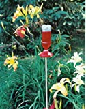 Soda Bottle Hanging Hummingbird Feeder Kit -- Lure hummingbirds to your yard by using this hummingbird feeder filled with nectar or sugar water, Hang Outdoors, Feed Wild Birds (Red)