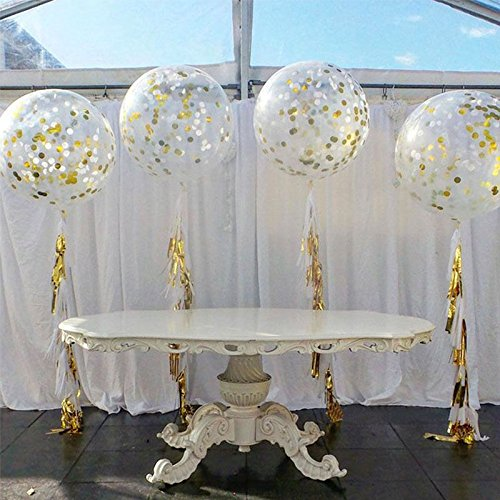 ZOOYOO Tissue Tassels Confetti Balloons product image