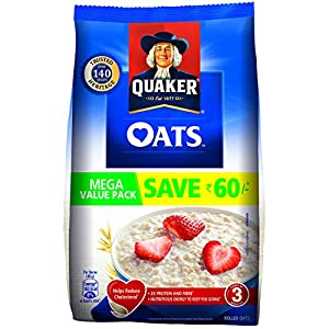 Best Quaker Oats, 2kg in India 2020 - 2021 (100% Healthy & Natural)