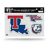 "NCAA Louisiana Tech Bulldogs NCAA Team Magnet Sheet, Blue, 11"" x 8.5"" x 25"""