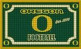 Team Sports America Oregon Ducks Embossed Floor Mat, 18 x 30 inches