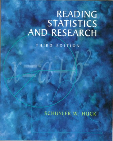 Reading Statistics and Research (3rd Edition)