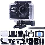 "Kuman SJ7000 WIFI Novatek 96655 12mp 2.0""LCD Full HD 1080p 170 Degree Wide Angle Sport Action Video Camera Waterproof Camcorder Outdoor for Swimming Diving Bicycle Motorcycle Skiing,Aerial Photography MH23"