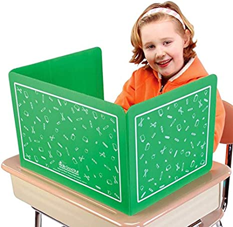 Really Good Stuff Privacy Shields for Student/'s Desks , Black High Gloss Keeps Their Eyes on Their Own Test//Assignments 12 Shields