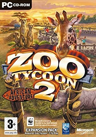 Zoo Tycoon 2: African Adventure Expansion Pack (PC CD): Zoo