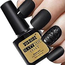 Vishine Matte Top Coat Soak Off UV LED Gel Polish Nail Art Matting Sealer 10ml