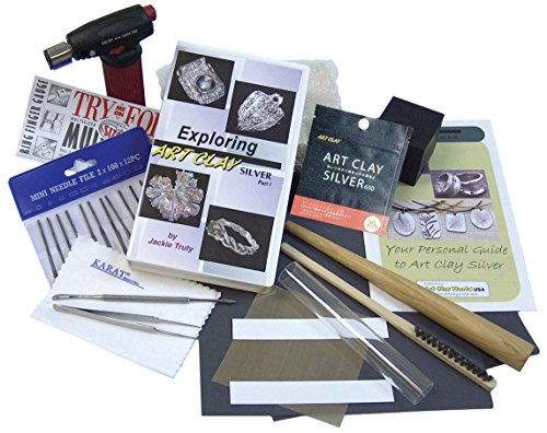 Art Clay Silver Starter Kit, (Clay Silver Kiln)