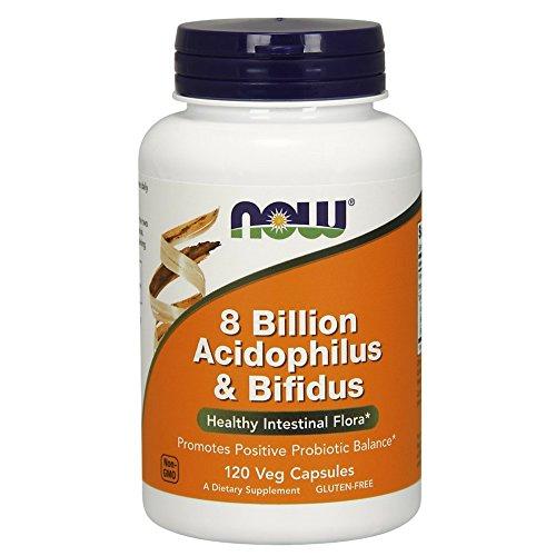 NOW Billion Acidophilus Bifidus Capsules
