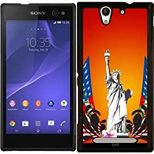Funda para Sony Xperia C3 - La Estatua De La Libertad by nicky2342