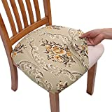 Comqualife Stretch Printed Dining Chair Seat