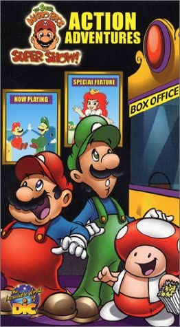 Amazon Com The Super Mario Brothers Super Show Mario S Action
