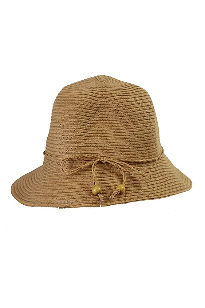 7f74a6a021036 August Hat Company Women's Classic Cloche Hat Natural at Amazon Women's  Clothing store: