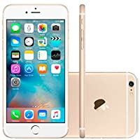 iPhone 6s Apple 16GB Dourado Tela Retina HD 4,7 IOS 9 4G e Câmera de 12 MP