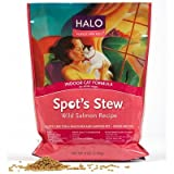 Halo Purely For Pets Spot's Stew Indoor Cat Formula Wild Salmon — 6 lbs, My Pet Supplies