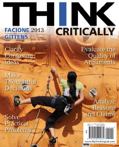 Download THINK Critically (2nd Edition) (MyThinkingLab Series) Pdf