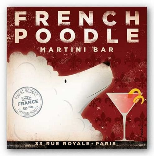 Limited Editions French Poodle Martini Bar by Stephen Fowler 12