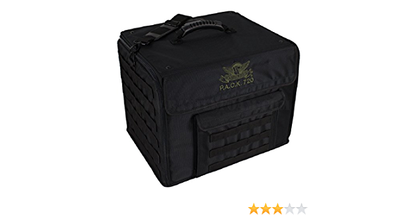 Amazon Com Battle Foam P A C K 720 Molle Standard Load Out Miniatures Case Black Toys Games To transport i use a battlefoam 720 p.a.c.k. battle foam pack 720 molle standard load out miniatures case black