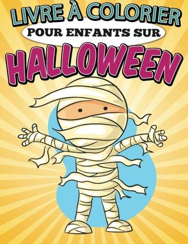 Livre à Colorier Pour Enfants Sur Halloween (French ()