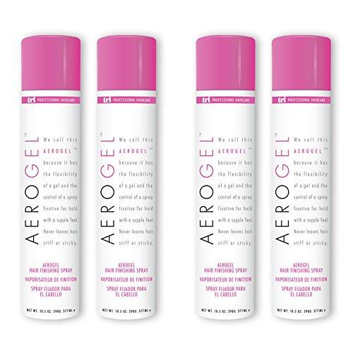 TRI Aerogel Hair Finishing Spray 10.5 oz. - 4 cans