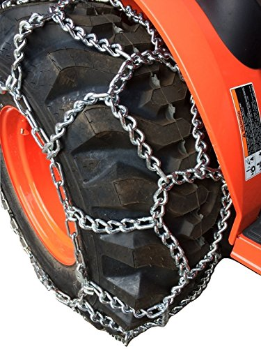 360 Four Diamond - TireChain.com European Diamond Tractor Tire Chains 12.4-24, 360/70-20, 320/85-24, 380/70-20 Tractor, Priced Per Pair