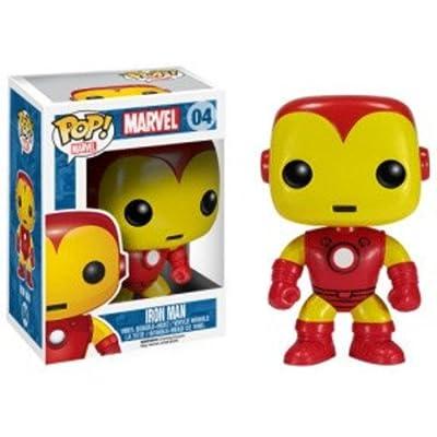 Funko Marvel Iron Man Pop Vinyl Figure: Funko Pop! Marvel:: Toys & Games